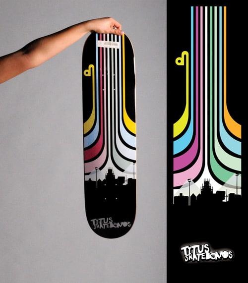 Skateboard Graphics by Toni Spyra