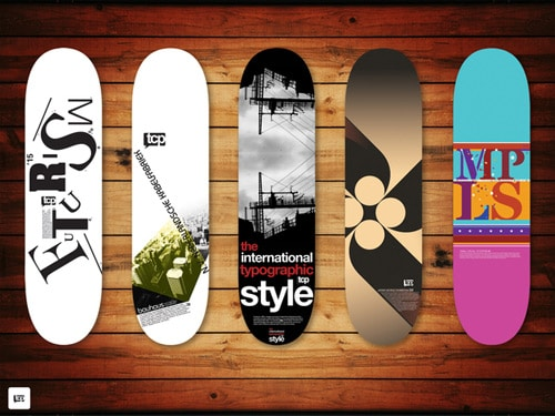 Skateboard Graphics by Taylor PembertonTaylor