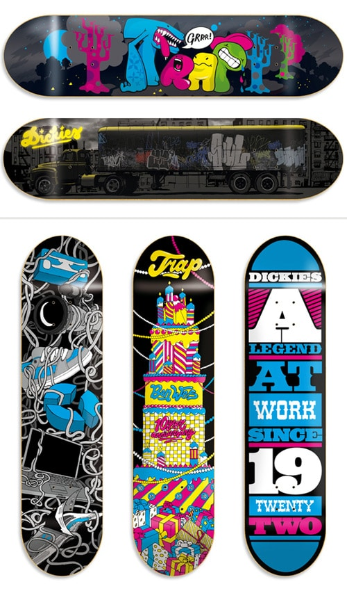 Skateboard Graphics '07 by visualism