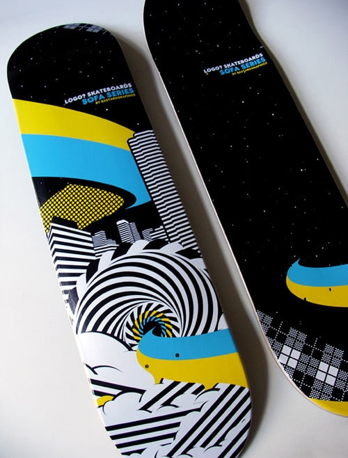 Skateboard design by Bgraphics