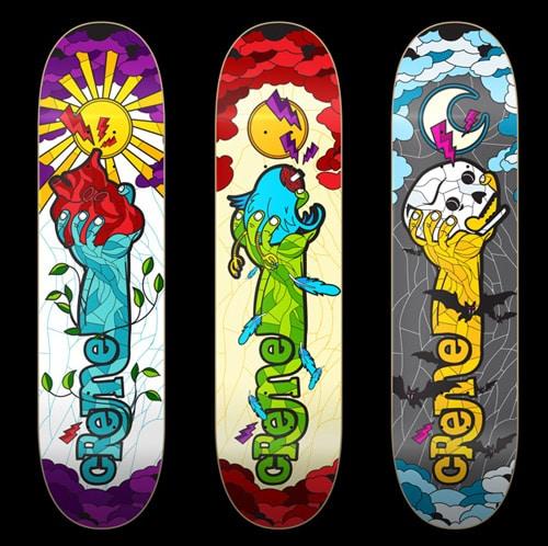 Skateboard Art by Conspiracystudio