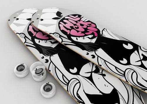 Skateboard Art - Oxidizzy