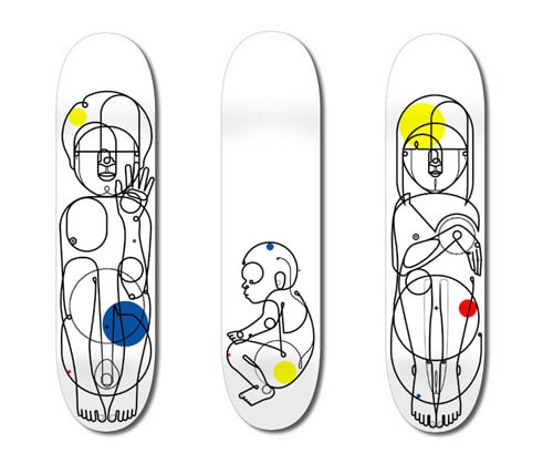 Skateboard Graphics by Will Scobie