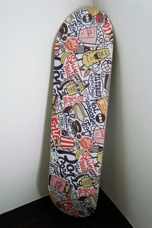 "Filter017 X Popdeck ""POP""CORN Skateboard by"