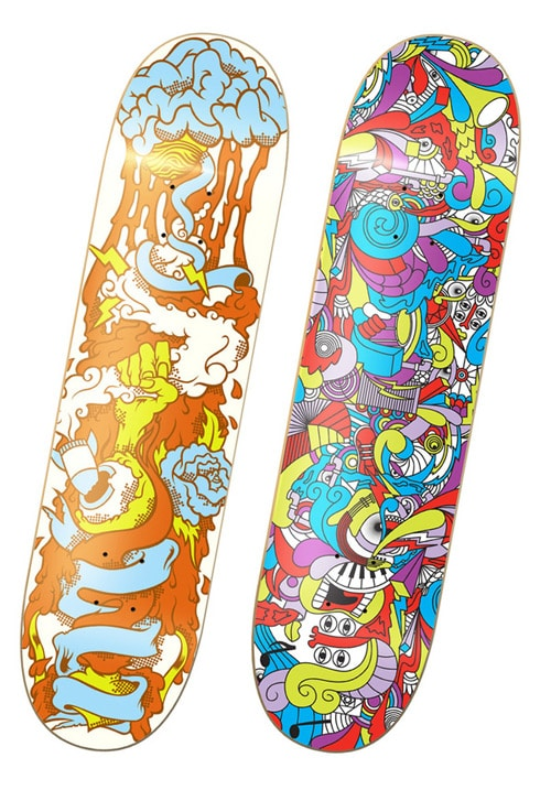 the Popdeck Artist Series.1 by juan figueras