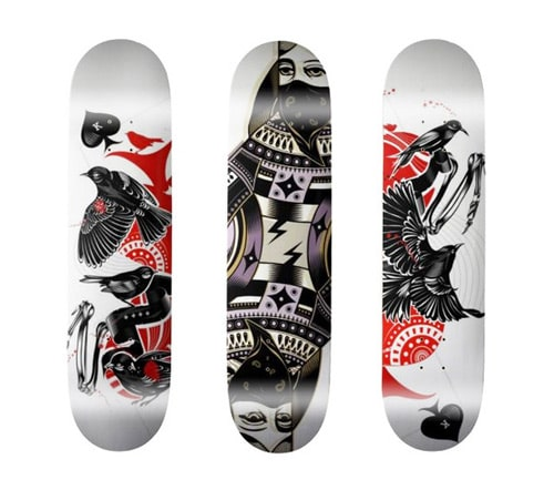 Skateboard decks by koivo