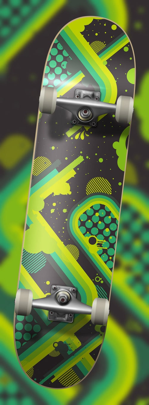 Skateboard Deck Design by Matt-X-Design