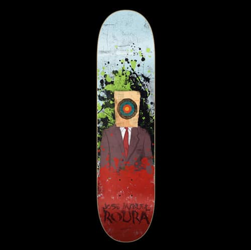 Skateboard ART by Conspiracystudio