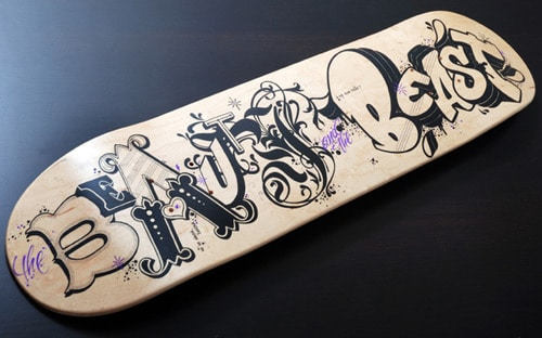 skateboarding is not a crime by monsieurqui - Skateboard Design Ideas