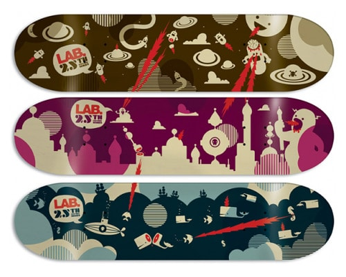 Skateboard Art by Emil Kozak