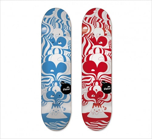 Skateboard Art by Emil Kozak