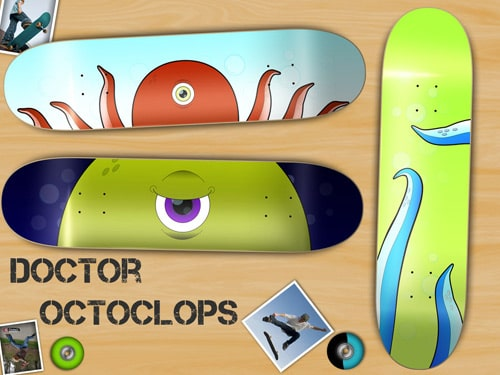 Doctor Octoclops: Deck Designs by Rob Cameron