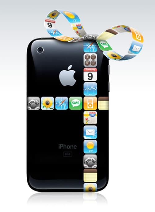 iPhone Gift Ribbon