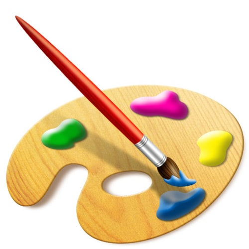 Creating a Set of Digital Painting Icons Part 3 – Paint Brush Icon