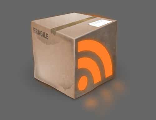 Use Inkscape to Create a Grunge RSS Box Icon