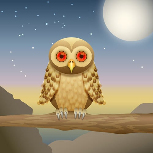 How to Create a Curious Owl in Illustrator CS4