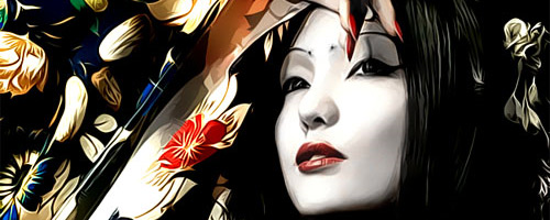 50 Incredible Asian Vector Portraits