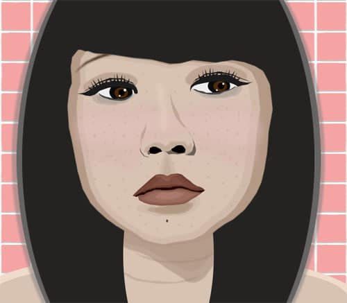 Vectored Self Portrait by CharismaticJinx