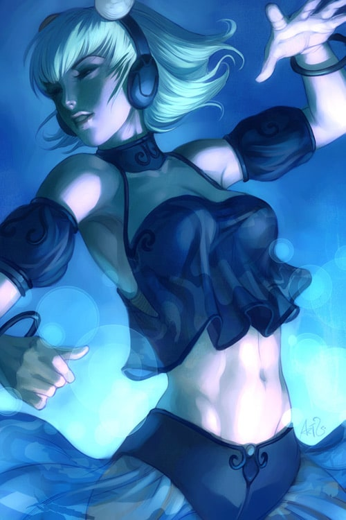 Wandaful Dance by `Artgerm