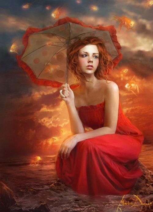 Umbrella Sky, Marta Dahlig (2D)