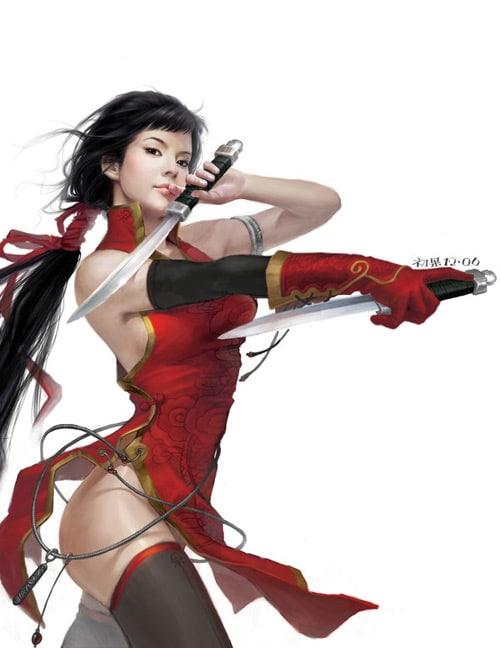red angell of revenge by ~yangqi