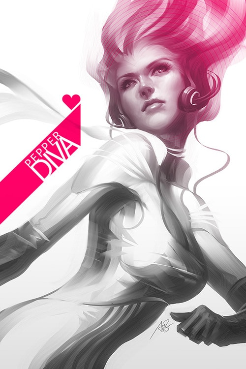 Pepper Diva by `Artgerm
