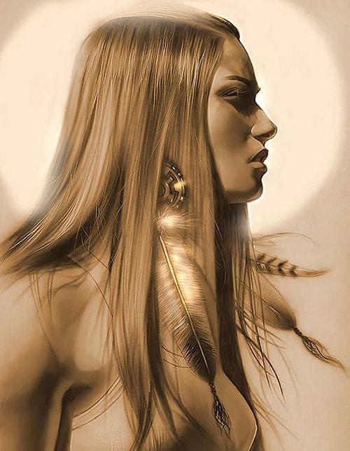 American Girl  by CABRAMACHO
