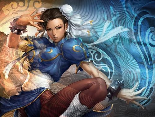 Chunli Style by `Artgerm
