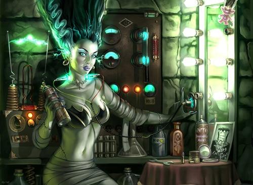 Frankenstein's Girlfriend