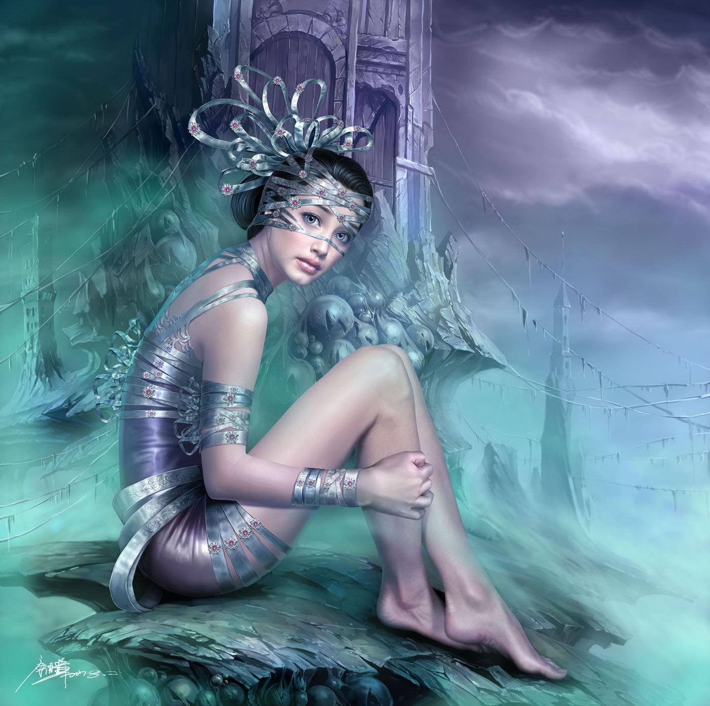 Digital Art: 80+ Most Beautiful CG Girls On The Web (Part