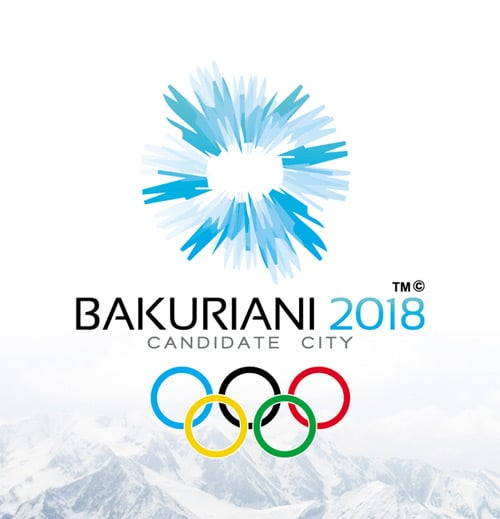BAKURIANI 2018 - Candidate LOGO by George Mickaia