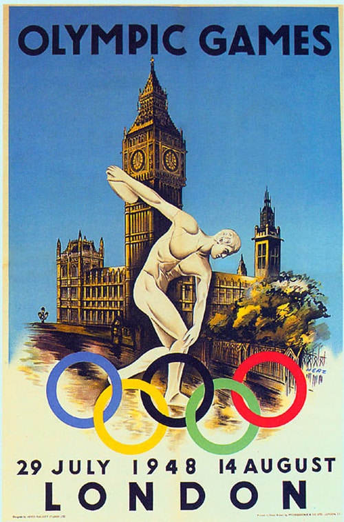Olympic inspired artwork