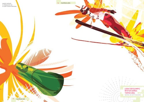 Poster Competition Olympic Games Torino 2006 by Moskito Design