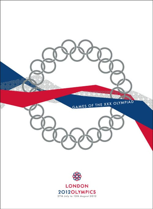 2012 London Olympics Identiy Design by Newton Tsang