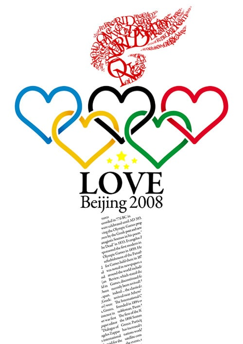 Love Beijing 2008 by Mike Chan
