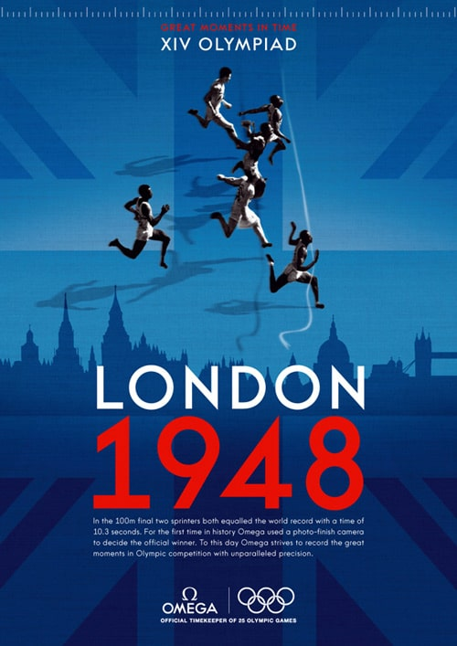 London 2012 Olympic Poster by Dario Nucci
