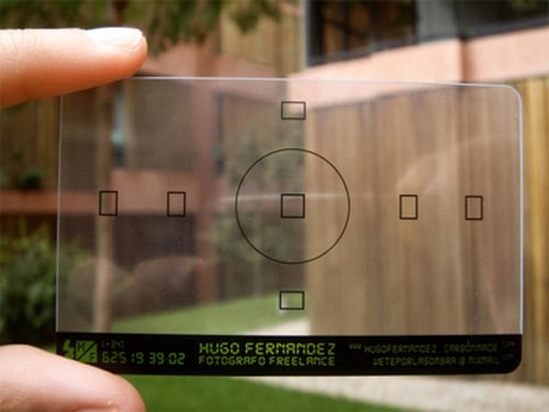 Business Card for Hugo Fernández by Low ink studio