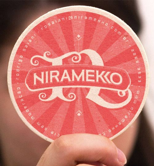 Niramekko Business Card by Rodrigo Saiani & Gustavo Saiani