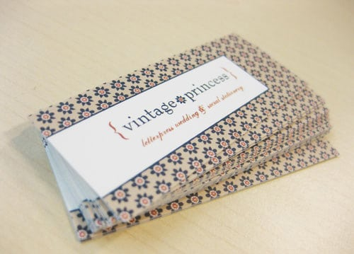 Mini Business Card By Amber Foley
