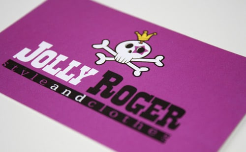 Jolly Roger Business Card By Marco Belletti