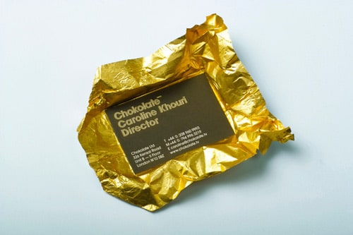 Chokolate mmm* by bunch design (www.bunchdesign.com)