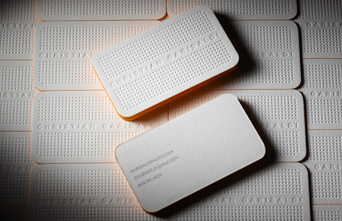 Branded Business Cards By Christian Garbaldi