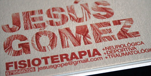Unique Business Card by By Francisco Giner