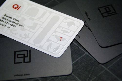 Ride Qi Business Card by Citizen Chan