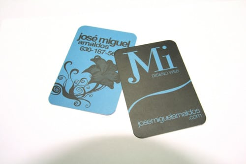 Business Cards of Jose Miguel Arnaldos by josemif