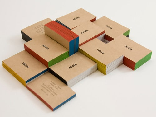 AFOM Business cards by grafikcache