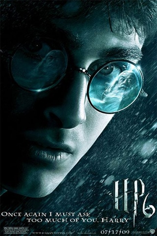 Harry Potter Blood Prince iPhone Wallpaper