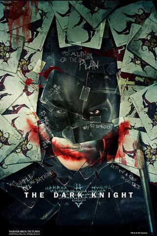 Bat Man – The Dark Knight iPhone Wallpaper