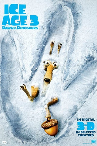 Ice Age III 3D iPhone Wallpaper