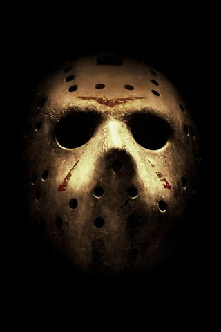 Jason Mask iPhone Wallpaper
